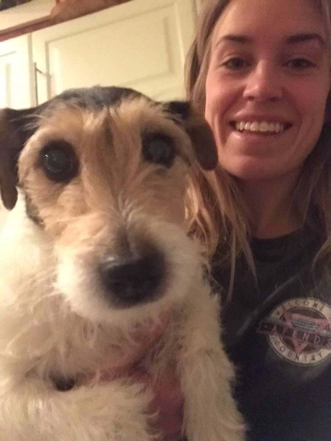 Blivande veterinär Emma Rubensson